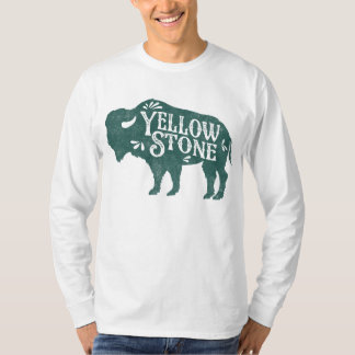 Yellowstone Buffalo Green T-Shirt