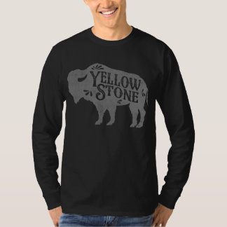 Yellowstone Buffalo Silver T-Shirt