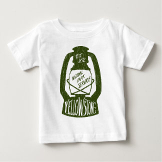 Yellowstone Camping Baby T-Shirt