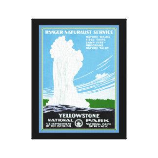 Yellowstone Canvas Print