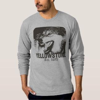 Yellowstone Emoticon Men's T-Shirt - LS