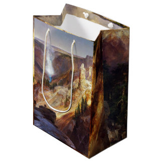 Yellowstone Falls Waterfall National Park Gift Bag