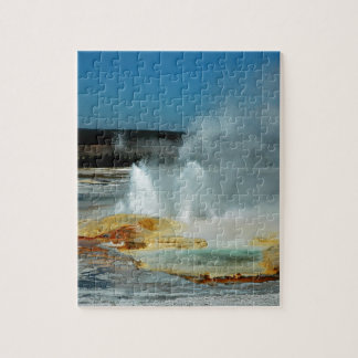 Yellowstone Geysers Jigsaw Puzzle