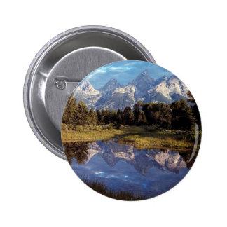Yellowstone Grand Teton Reflections Pins