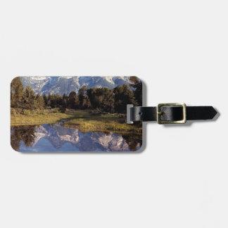Yellowstone Grand Teton Reflections Bag Tags