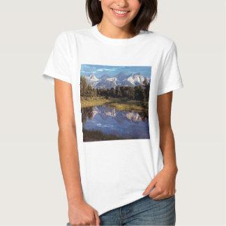 Yellowstone Grand Teton Reflections Tshirts
