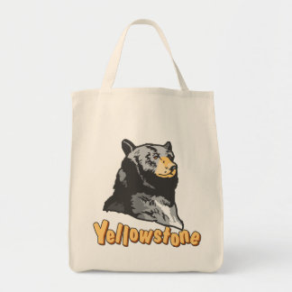 Yellowstone Grocery Tote Bag