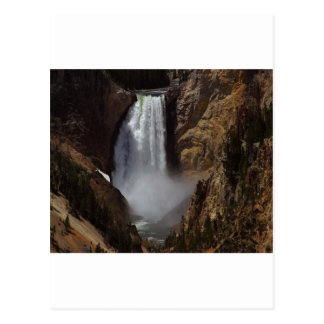 Yellowstone Lower Falls Postcard