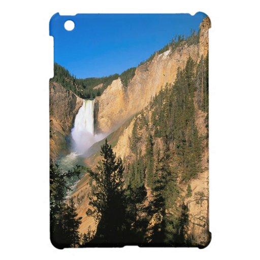 Yellowstone Lower Falls Wyoming iPad Mini Covers