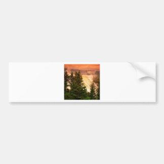 Yellowstone Mammoth Terraces Wyoming Bumper Sticker