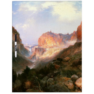Yellowstone Moran Waterfall River Dry Erase Board