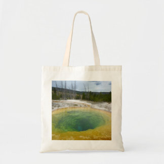 Yellowstone: Morning Glory Pool Tote Bag