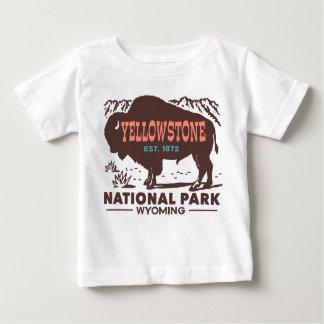 Yellowstone National Park Baby T-Shirt