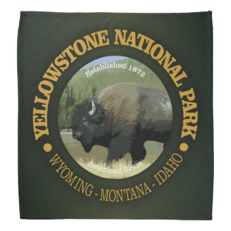 Yellowstone National Park (bison) Bandana
