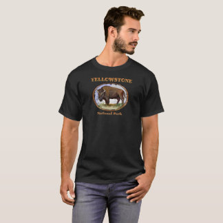 Yellowstone National Park Bison T-Shirt