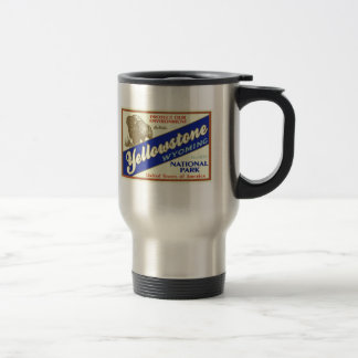 Yellowstone National Park (Buffalo) Travel Mug