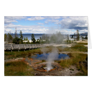 Yellowstone National Park Card