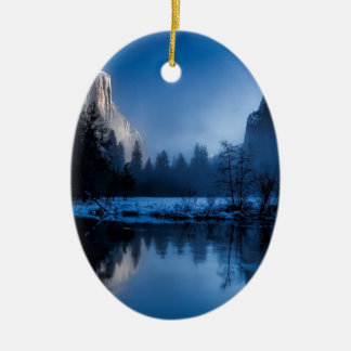 yellowstone-national-park ceramic oval decoration