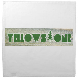 Yellowstone National Park Cloth Napkins