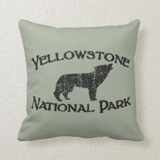 Yellowstone National Park Cushion