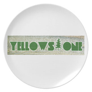 Yellowstone National Park Dinner Plate
