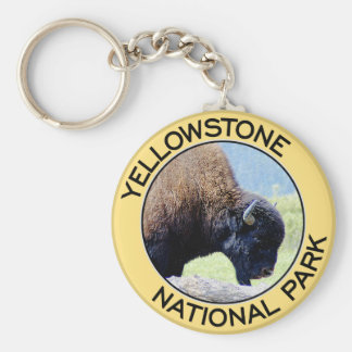 Yellowstone National Park Key Ring