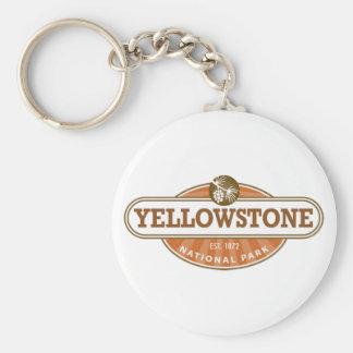 Yellowstone National Park Key Ring