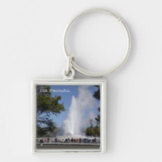 Yellowstone National Park Keychain