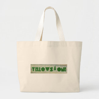 Yellowstone National Park Large Tote Bag