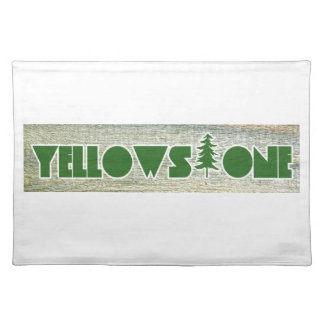 Yellowstone National Park Placemat
