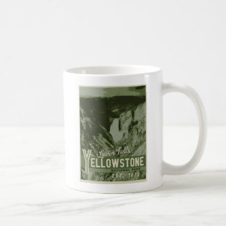 Yellowstone National Park Poster Mug