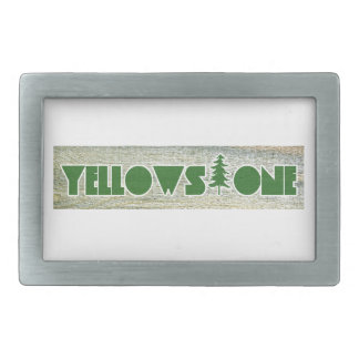 Yellowstone National Park Rectangular Belt Buckle
