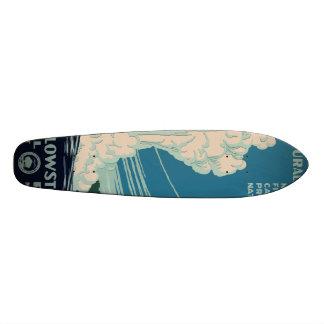 Yellowstone National Park Skateboard Deck