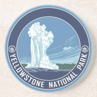 Yellowstone National Park Souvenir Coaster