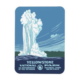Yellowstone National Park Souvenir Rectangular Photo Magnet