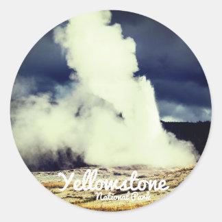 Yellowstone National Park Sticker