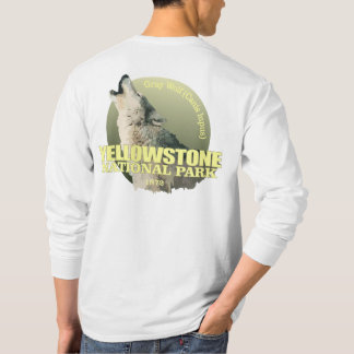 Yellowstone NP (Gray Wolf) WT T-Shirt