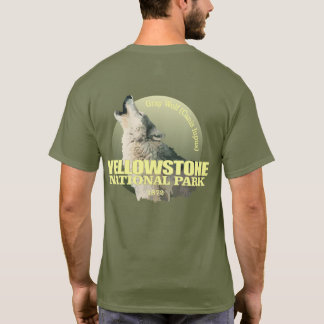 Yellowstone NP (Gray Wolf) WT T-Shirt