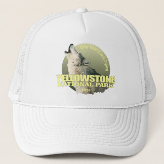 Yellowstone NP (Gray Wolf) WT Trucker Hat