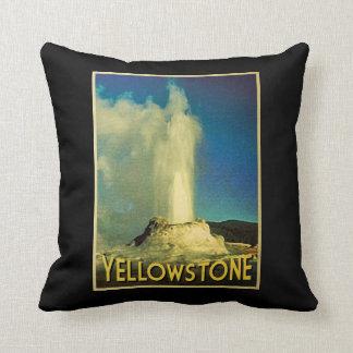 Yellowstone Old Faithful Cushion