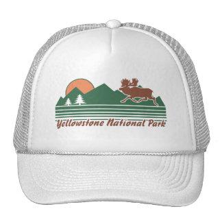 Yellowstone Park Trucker Hat