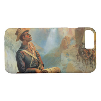 Yellowstone Park Sunset 1897 iPhone 8/7 Case