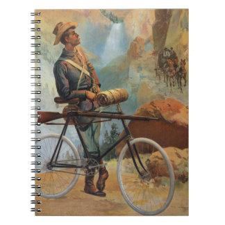 Yellowstone Park Sunset 1897 Notebook
