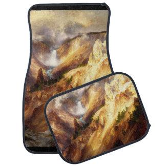 Yellowstone Waterfall National Park Car Floor Mats