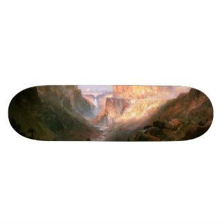 Yellowstone Waterfall River Wilderness Skateboard