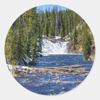 Yellowstone Wyoming Stickers