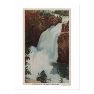 Yellowstone, WYView of Yellowstone River Falls Postcards