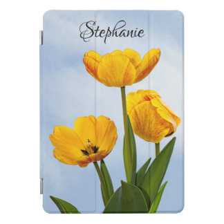 YellowTulips with Blue Sky Floral Photography iPad Pro Cover