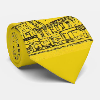 Yellowville houses and homes and water tower tie