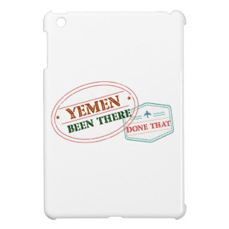 Yemen Been There Done That Case For The iPad Mini